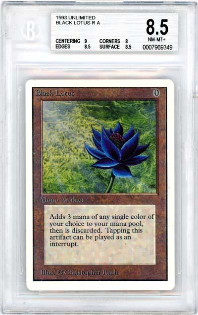 Black Lotus (Unlimited) (BGS 8.5) (#0007969349)