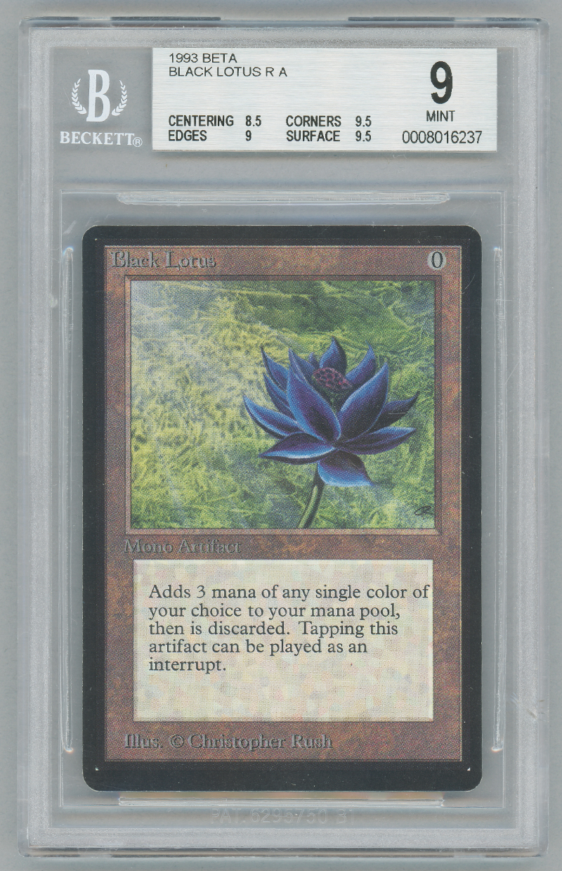 Black Lotus (Beta) (BGS 9) (#0008016237M)
