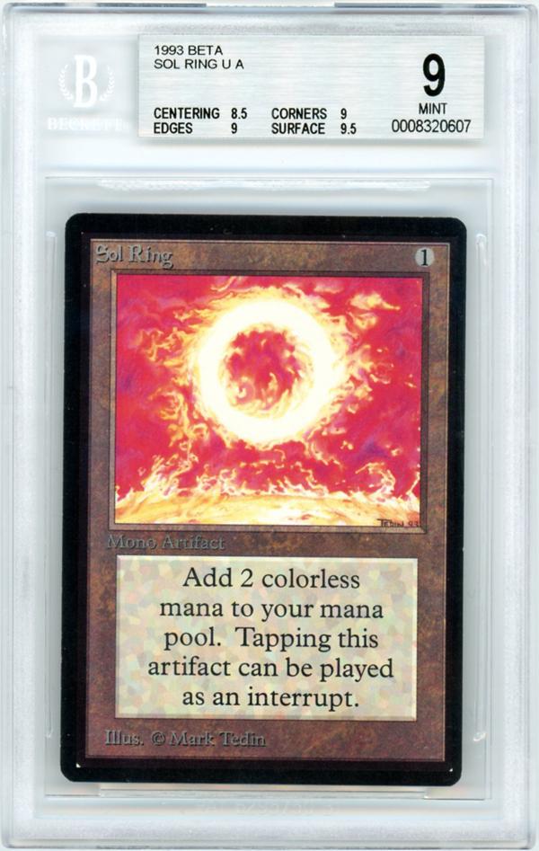 Sol Ring Beta Price