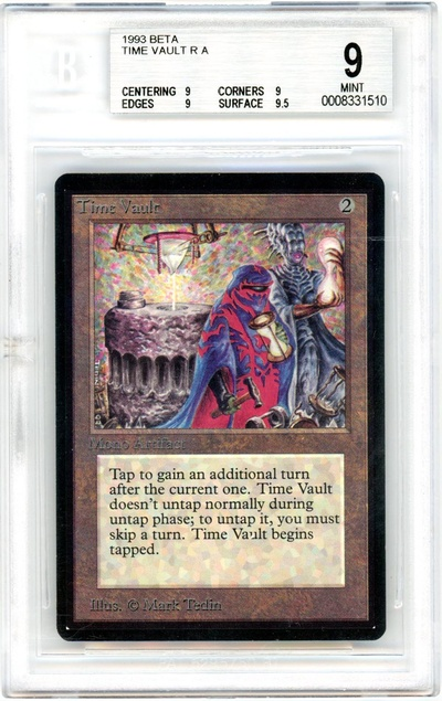 Time Vault (Beta) (BGS 9) (#0008331510)