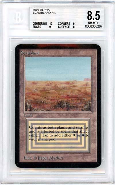 Scrubland (Alpha) (BGS 8.5) (#0008358267)