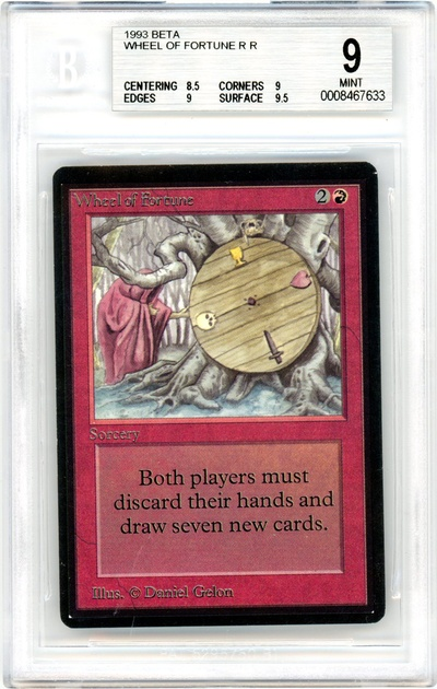 Wheel of Fortune (Beta) (BGS 9) (#0008467633)