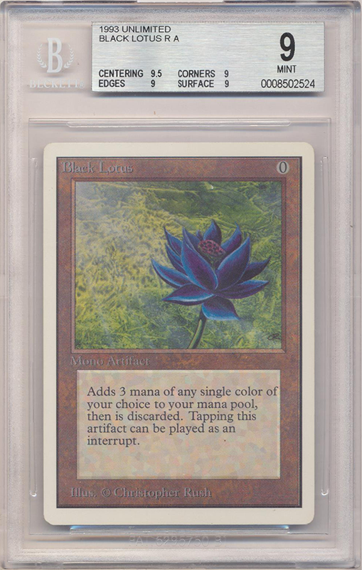Black Lotus (Unlimited) (BGS 9) (#0008502524)