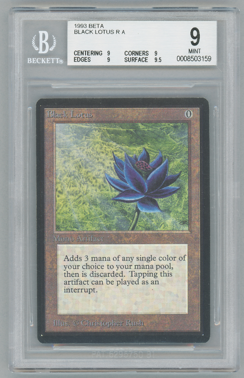 Black Lotus (Beta) (BGS 9) (#0008503159M)
