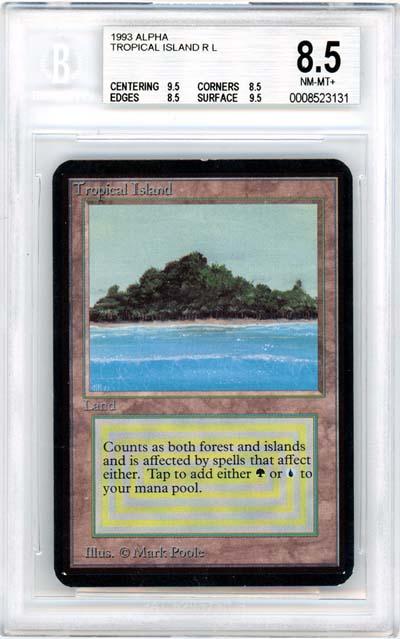 Tropical Island (Alpha) (BGS 8.5) (#0008523131)
