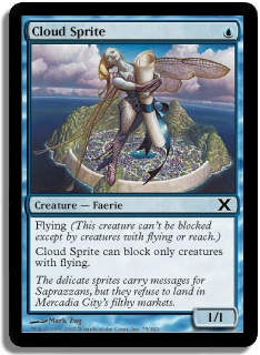 Cloud Sprite (Magic card)