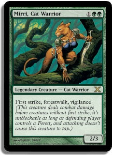 Mirri, Cat Warrior (Magic card)