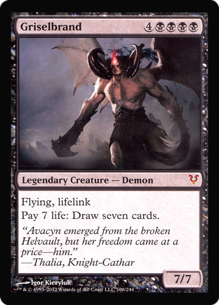 Griselbrand (Oversized Helvault Promo)