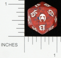 Magic Spindown Die - Apocalypse - Red