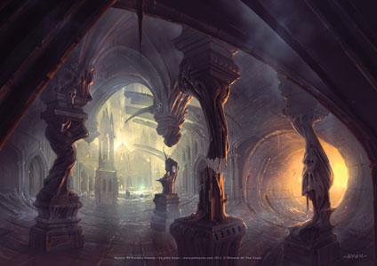 John Avon - Return to Ravnica Lithograph - Swamp
