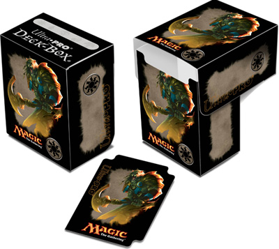 Ultra Pro Magic Deck Box -  Mana 4 Planeswalkers - Ajani, Caller of the Pride