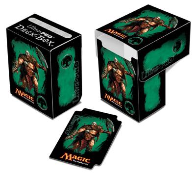 Ultra Pro Magic Deck Box -  Mana 4 Planeswalkers - Garruk, Caller of Beasts