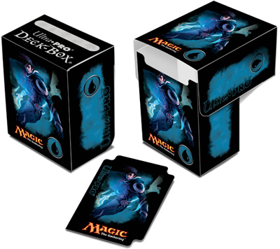 Ultra Pro Magic Deck Box -  Mana 4 Planeswalkers - Jace, Memory Adept
