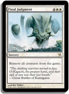 Final Judgment (Magic card)