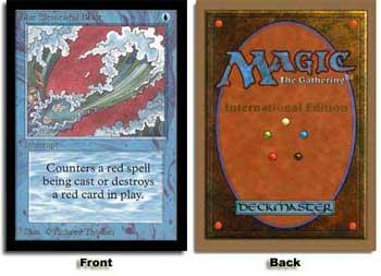 Blue Elemental Blast (Not Tournament Legal)