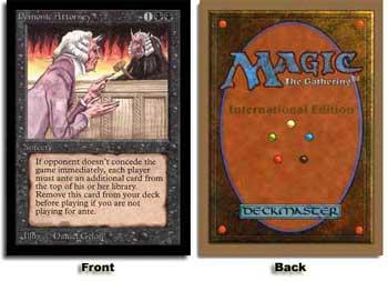 Demonic Attorney (Not Tournament Legal)