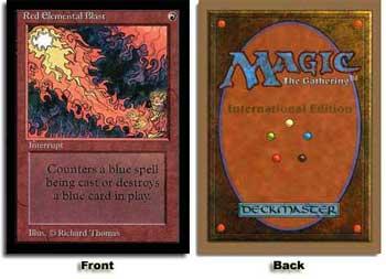 Red Elemental Blast (Not Tournament Legal)