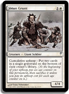 Jotun Grunt (Magic card)