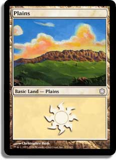 Plains (#371) (Theme Deck Reprint)