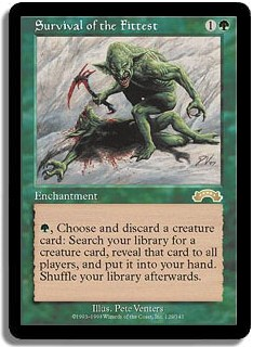 Survival Of The Fittest (Magic card)