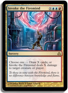 Invoke The Firemind (Magic card)