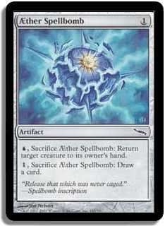 Aether Spellbomb (Magic card)