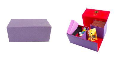 Dex Protection Deck Box - Aurora (L) - Purple