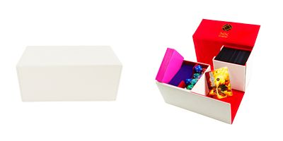 Dex Protection Deck Box - Carte Blanche (L) - White