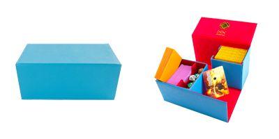 Dex Protection Deck Box - Ocean (L) - Light Blue