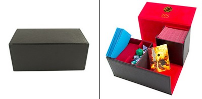 Dex Protection Deck Box - Galaxy (L) - Black