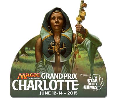 Grand Prix: Charlotte 2015 Collectible Pin - Noble Hierarch