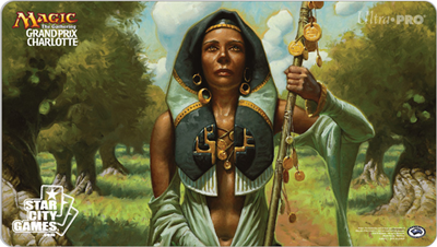 Grand Prix: Charlotte 2015 Playmat - Noble Hierarch