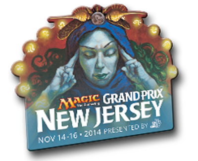 Grand Prix: New Jersey 2014 Collectible Pin - Brainstorm