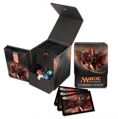 Ultra Pro Magic Deck Box & Sleeves - Commander Tower Set - Kaalia of the Vast (Limited Edition)