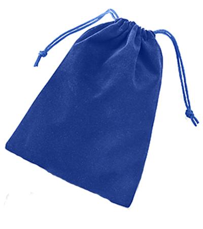 Solid Color Dice Bag - Blue