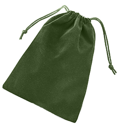Solid Color Dice Bag - Green