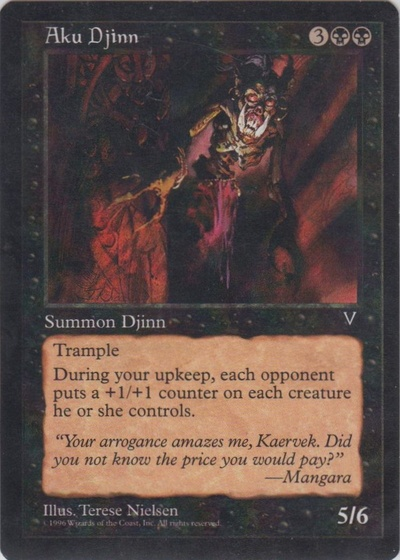 Aku Djinn (Dark Visions - Color Error)