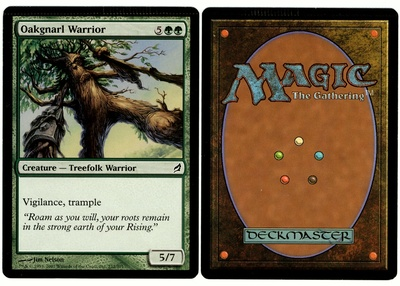 Oakgnarl Warrior (Lorwyn - Crimp)
