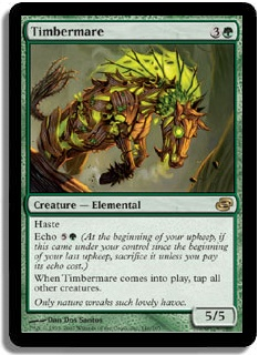 [EDH] Devour for Power... and time! Timbermare