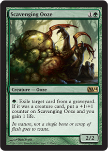 Scavenging Ooze (Duels of the Planeswalkers 2014) (PC)