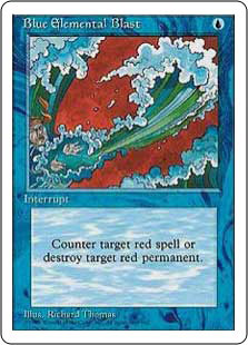Blue Elemental Blast (Armada Comics)