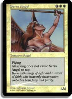 Serra Angel (Original Artwork)