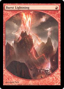 Burst Lightning (Player Rewards) (Textless)