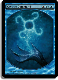 Cryptic Command (Player Rewards) (Textless)