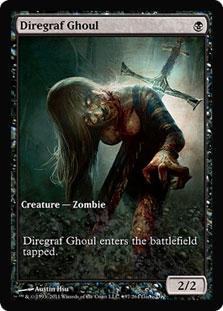 Diregraf Ghoul (Innistrad Game Day) (Full-Art)