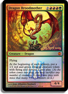 Dragon Broodmother (Alara Reborn Prerelease)