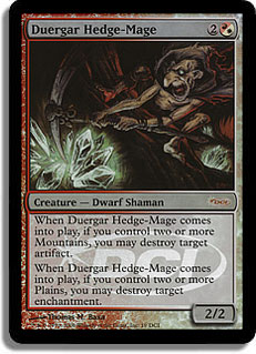 Duergar Hedge-Mage (WPN)