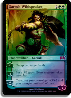 Garruk Wildspeaker (Duels of the Planeswalkers 2009) (Xbox)