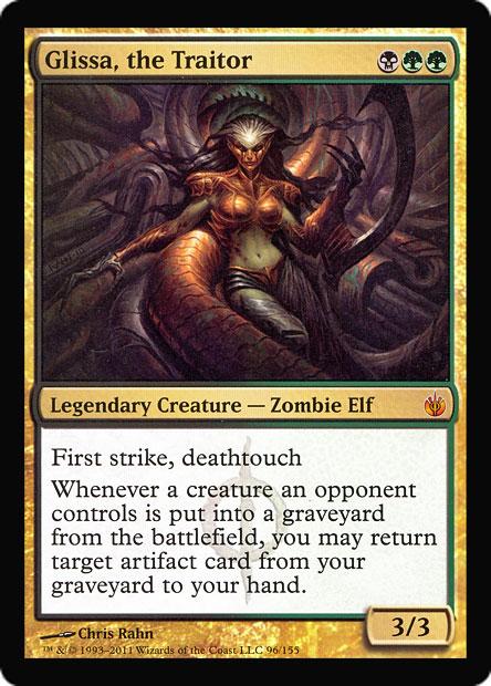 Glissa, the Traitor (Player Rewards) (Oversized)