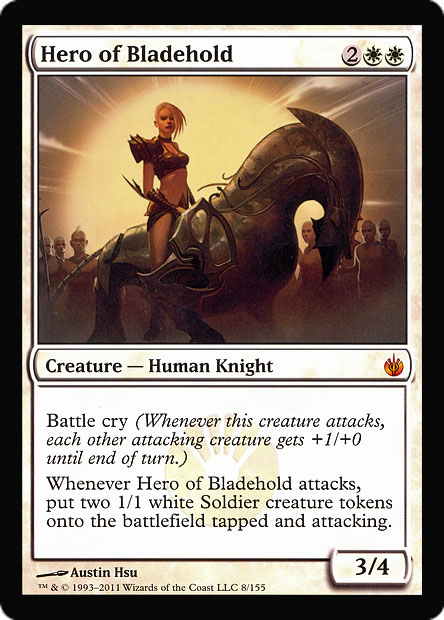 Hero Of Bladehold Magic Card